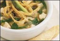 Picture of Simple Tortilla Soup Mexican Recipe - Item No. 345-simple-tortilla-soup