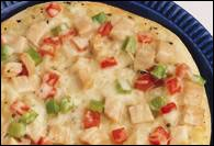 Picture of Thin and Crispy Turkey Pizza Recipe - Item No. 346-thin-crispy-turkeypizza