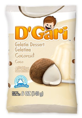 Picture of D'Gari Coconut Gelatin 6 oz&nbsp;- Item No.&nbsp;35257-00220