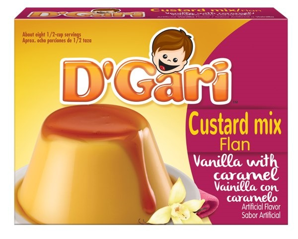 Picture of D'Gari Coconut Custard / Flan de Coco - Item No. 35257-00515