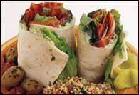 Picture of BLT Wrap with Avocado Spread Recipe - Item No. 360-blt-wrap-avocadospread