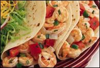 Picture of Shrimp Soft Tacos - Item No. 361-shrimp-softtacos