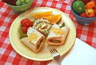 Picture of Turkey Picnic Wraps Recipe - Item No. 364-turkeypicnicwraps