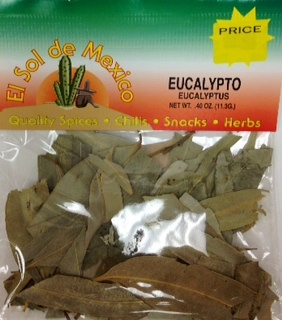 Picture of Eucalypto - Eucalyptus by El sol de Mexico .40 oz&nbsp;- Item No.&nbsp;3646