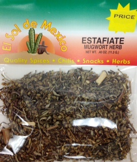 Picture of Estafiate Mugwort Herb by El Sol de Mexico .40 oz - Item No. 3665