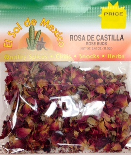 Picture of Rosa de Castilla Rose Buds by El Sol de Mexico .40 oz&nbsp;- Item No.&nbsp;3669
