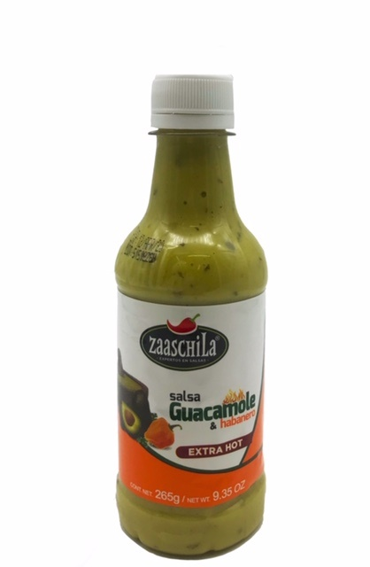 Picture of Zaaschila Guacamole with Chile Habanero Salsa Picante 9.35 oz - Item No. 36817-12265
