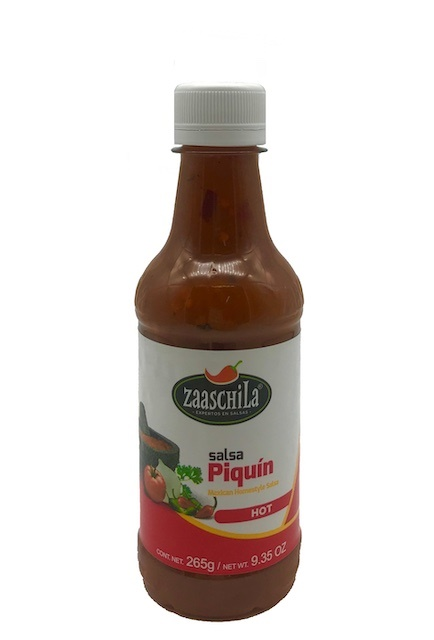 Picture of Zaaschila Chile Piquin Salsa Picante 9.35 oz&nbsp;- Item No.&nbsp;36817-15265