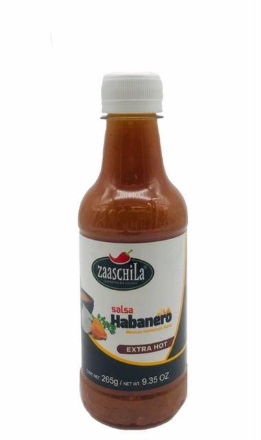 Picture of Zaaschila Chile Habanero Salsa Picante 9.35 oz - Item No. 36817-60265