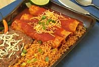 Picture of Easy Turkey Enchiladas Recipe - Item No. 374-easyenchiladas