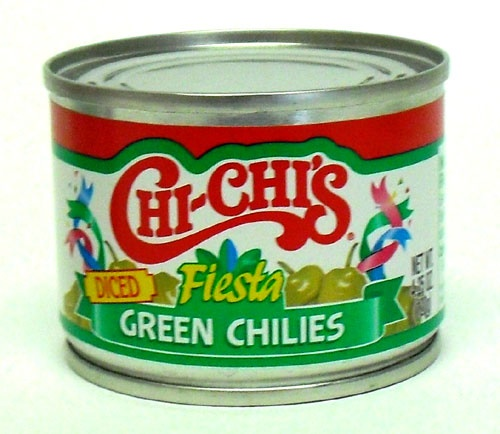 Picture of CHI-CHI'S Diced Green Chilies4.25 oz&nbsp;- Item No.&nbsp;37600-00045