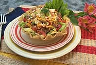 Picture of Quick and Crunchy Taco Salad - Item No. 377-quickcrunchytacosalad