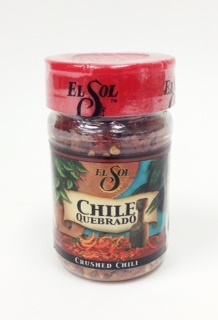 Picture of Chile Quebrado - Crushed Chili Pepper by El Sol - Item No. 37714-02001