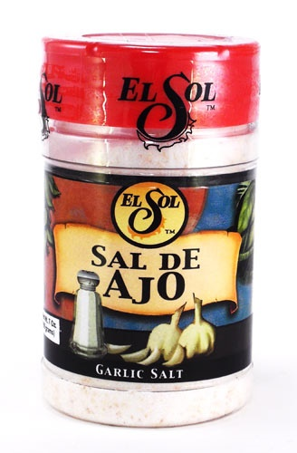 Picture of El Sol Garlic Salt 7 oz - Item No. 37714-02004