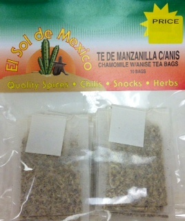 Picture of Chamomile with Anise Tea Bags by El Sol de Mexico - Item No. 37714-manzanillaanis