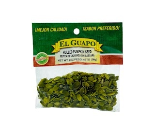 Picture of Pepita Natural - Hulled Pumpkin Seeds Natural by El Sol de Mexico - Item No. 37714-pepitas