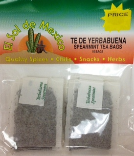Picture of Te de Yerbabuena - Spearmint Tea Bags 10 bags&nbsp;- Item No.&nbsp;37714-yerbabuena