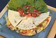 Picture of Chicken Soft Tacos - Item No. 378-chickensofttacos