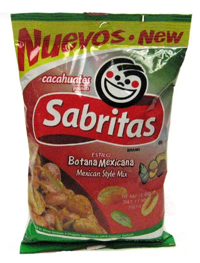 Picture of Sabritas Mexican Style Peanuts - Botana Mexicana 7 oz - Item No. 37826