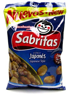 Picture of Sabritas Japanese Peanuts 7 oz.&nbsp;- Item No.&nbsp;37843