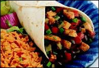 Picture of Turkey and Black Bean Wraps - Item No. 382-turkey-blackbeanwraps