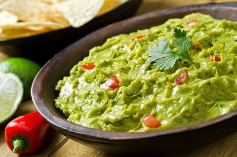 Picture of South of the Border Guacamole Dip Recipe- Item No.389-south-of-the-border-guacamole-dip
