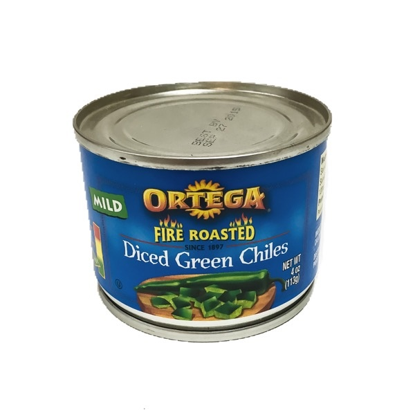 Picture of Ortega Fire Roasted Dice Green Chiles&nbsp;- Item No.&nbsp;39000-01021