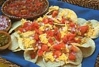 Picture of Baja Chicken Nachos Mexican Recipe - Item No. 391-bajachickennachos