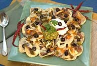 Picture of Football Night Nachos Recipe - Item No. 392-footbalnightnachos