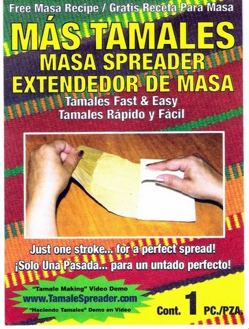 Picture of Tamales Masa Spreader - Extendedor de Masa MAS TAMALES Mex-Sales&nbsp;- Item No.&nbsp;39584-00110