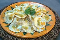 Picture of Cheesy Nachos with Chiles Recipe - Item No. 398-cheesynachos