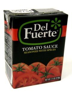 Picture of Del Fuerte Tomato Sauce Seasoned with Spices - Tetra Pak  7.4 oz&nbsp;- Item No.&nbsp;4021