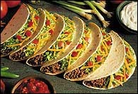 Picture of Fast Fiesta Tacos Recipe - Item No. 404-fast-fiesta-tacos