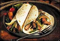 Picture of Fajitas - Sizzling Steak Fajitas Mexican Recipe - Item No. 405-fajitas