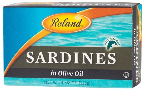Picture of Sardines - Roland Sardines in Olive Oil 4 3/8 oz - Item No. 41224-12120