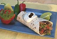Picture of Southwestern Flank Steak Burrito Recipe - Item No. 414-swflanksteakburrito