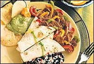 Picture of Quick Pork Fajitas Mexican Recipe - Item No. 422-quick-pork-fajita