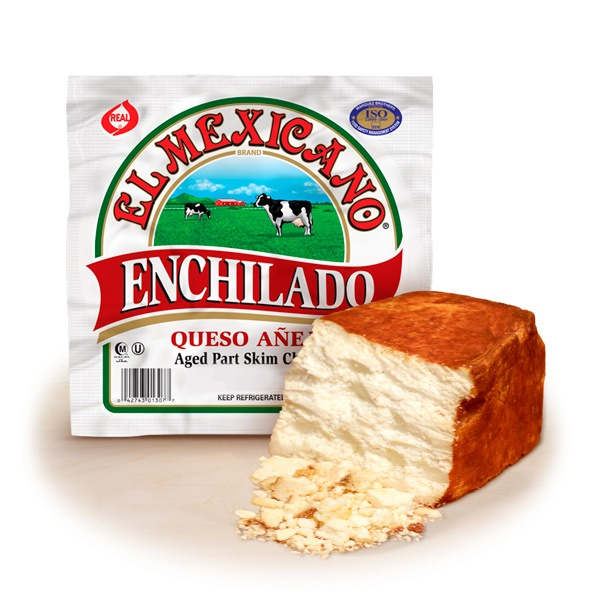 Picture of Queso Enchilado El Mexicano 10 oz - Item No. 42743-12307