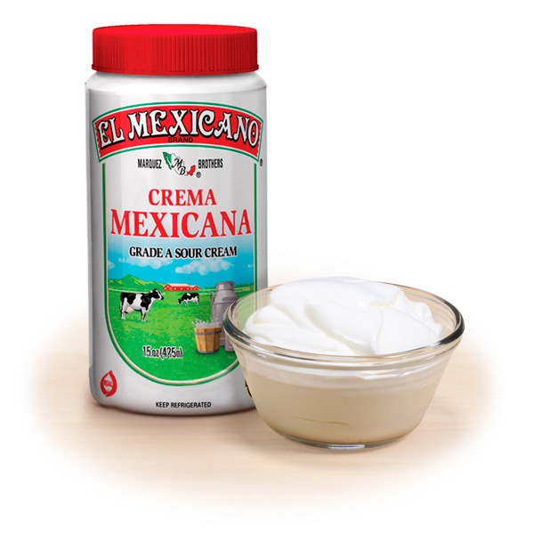 Picture of Crema Mexicana (Sour Cream) El Mexicano Tri-Pack&nbsp;- Item No.&nbsp;42743-12308