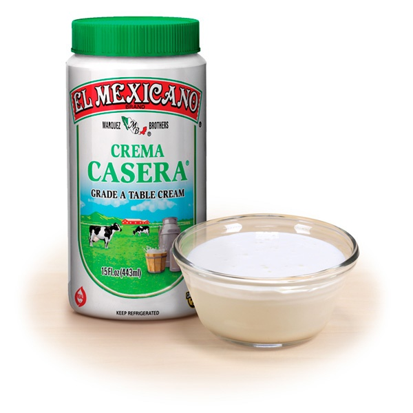 Picture of Crema Casera Fresca El Mexicano Tri-Pack&nbsp;- Item No.&nbsp;42743-12316