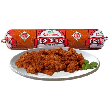 Picture of El Mexicano Beef Chorizo de Res 9 oz - Item No. 42743-17991