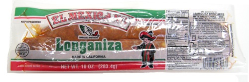 Picture of El Mexicano Pork Longaniza 10 oz (283.4g)&nbsp;- Item No.&nbsp;42743-18013