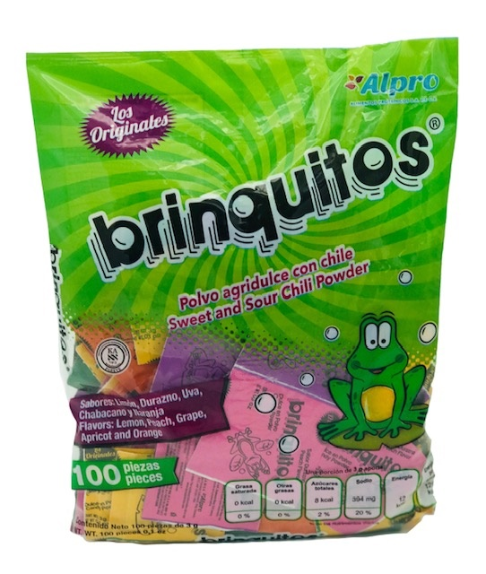 Picture of Brinquitos Sweet'n Sour Powder with Chili 100 pieces&nbsp;- Item No.&nbsp;43895-86913