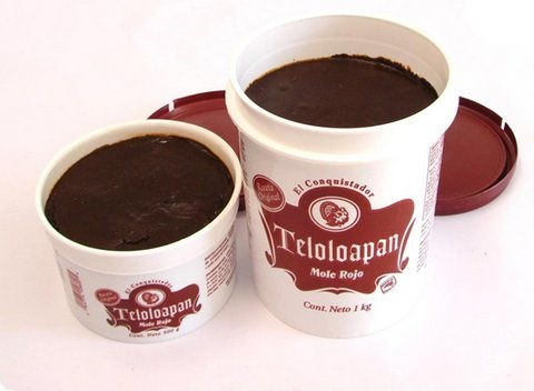 Picture of Mole Paste El Conquistador Teloloapan Red Mole 17.6 oz - Item No. 44774-10800