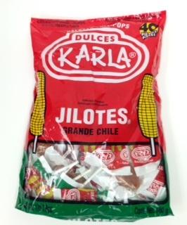 Picture of Paletas - Lollipops Jilotes Grande Chile 1lb 7.9oz- Item No.44911-00168