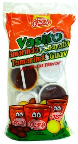 Picture of Vasito Tamarind & Guava by Dulces Karla (42.3 oz) 8 pieces&nbsp;- Item No.&nbsp;44911-00310