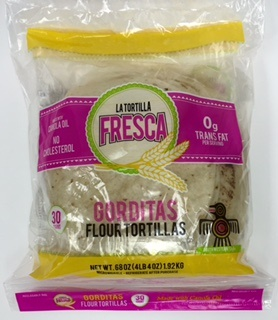 "Picture of Flour Tortillas - Southwestern Style Gorditas by Porkyland - 8"" - 30 Count Pack - Item No. 44946-00181"