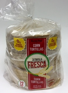 Picture of Corn Tortillas - Thick Corn Tortillas by Porkyland - 6&quot; - Six Dozen Pack&nbsp;- Item No.&nbsp;44946-28197