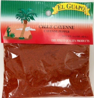 Picture of Chile Cayenne Ground Pepper 1.5 oz - Item No. 44989-00074