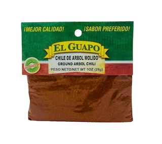 Picture of Chile de Arbol Molido Ground Chili 2.5 oz - Item No. 44989-00237